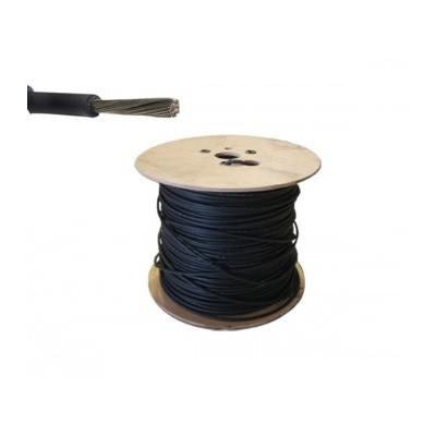 Cable Solar 4m.m.-40/ +120º +UV 0,6/1KV-negro PROBISOL