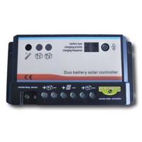 Regulador PWM Mod.RSD 12/24V dual 10 Ah BLACKBULL