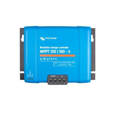 Regulador maximizador Blue Solar 100A y 12v/24v/48v  con MPPT 150/100  Tr Victron