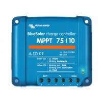 Regulador maximizador Blue Solar 10A y 12v/24v con MPPT 75/10 Victron