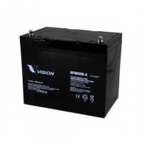 Bateria monoblock Vision Battery AGM 12V-60A (C10)6FM60D-X