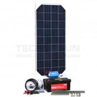 Kit aislada Solar Pack OGP03 350W 12V ELECSUN