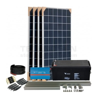Kit aislada Solar Pack OGP10 1kW 24V ELECSUN