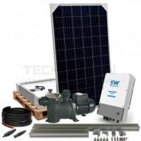 Kit piscinas SolarPack Pool series 01 hasta 50//75 m3 0,75CV PROBISOL