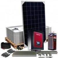 Kit aislada Solar Pack OGP11 3kW 60V 15,6 kW/dia ELECSUN