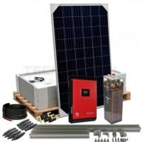 Kit aislada Solar Pack OGP13  4kW 48v 11,7 kW/dia ELECSUN