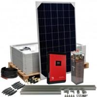 Kit aislada Solar Pack OGP15 8kW 48v 15,6 kW/dia ELECSUN