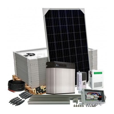 Kit aislada Solar Pack OGP17 3,8kW 48v 19,5 kW/dia ELECSUN