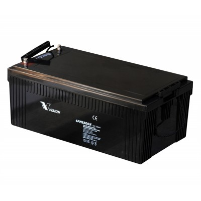 Bateria monoblock Vision Battery AGM 12V-230A (C10)