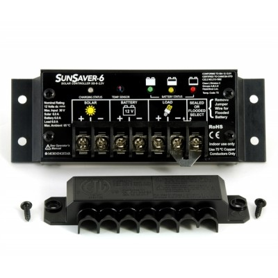 Regulador MORNINGSTAR 6A-12V - SS-6