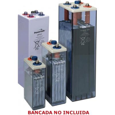 6 Elementos acumulador ENERSYS 2V 550Ah (C10) sin bancada.