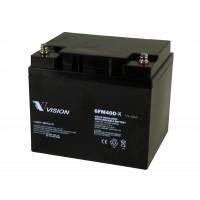 Bateria monoblock AGM 12V-40A (C10)-VISION BATTERY