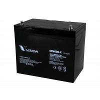 Bateria monoblock AGM 12V - 60A, Vision Battery