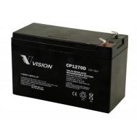 Bateria monoblock AGM 12V - 7A(C20)-VISION BATTERY