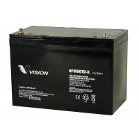 Bateria monoblock AGM 12V - 90A(C10)-VISION BATTERY